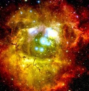 hubble rosette nebula