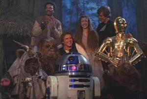 Return of the Jedi Final Scene