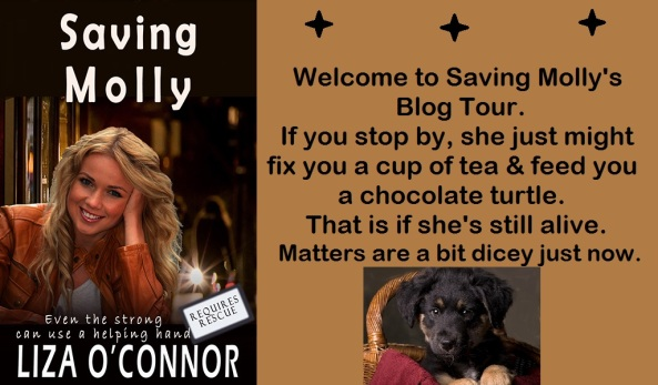 Saving Molly banner w puppy large