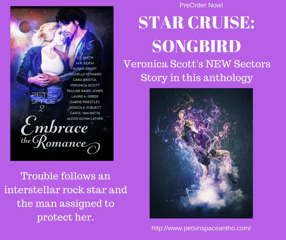 Star cruise songbird canva purple