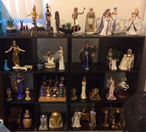 egyptiana shelves