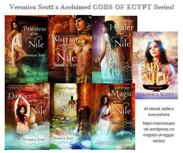 Veronica Scott's Acclaimed GODS OF EGYPT Series canva