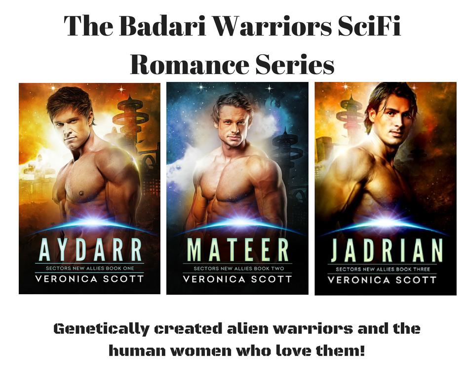 The badari warriors scifi romance series canva