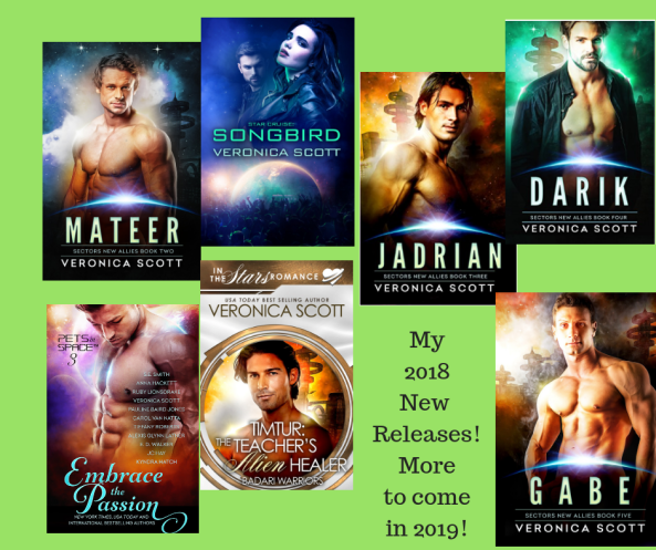 veronica scott's 2018 new releases!