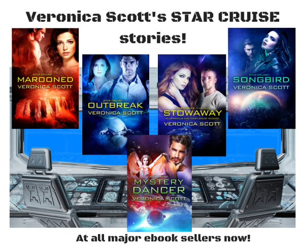 Veronica Scott's STAR CRUISE stories!