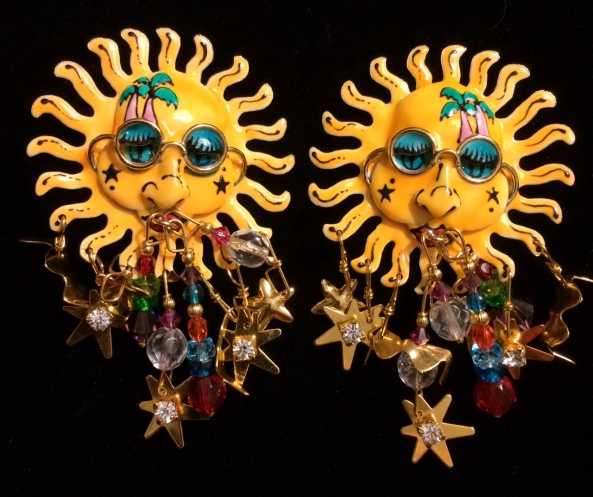LATR sun earrings