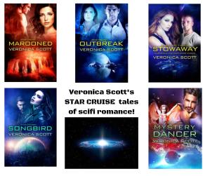 Veronica Scott's STAR CRUISE scifi romance! canva ad OCT 2019