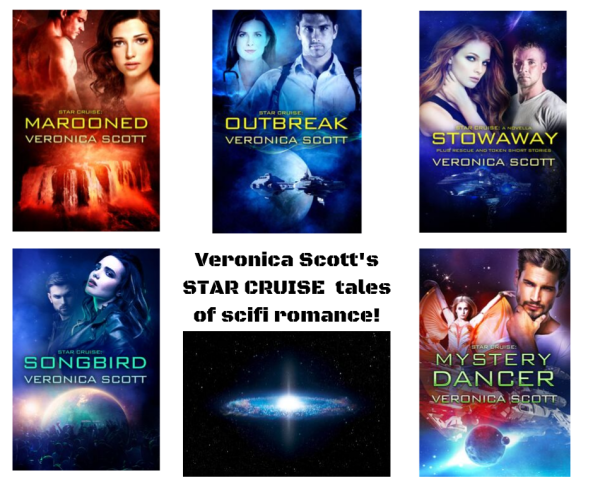 Veronica Scott's STAR CRUISE scifi romance! canva ad OCT 2019