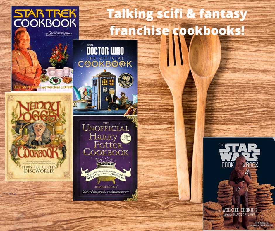 12 SciFi & Fantasy Cookbooks!