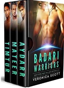 badari warriors box set
