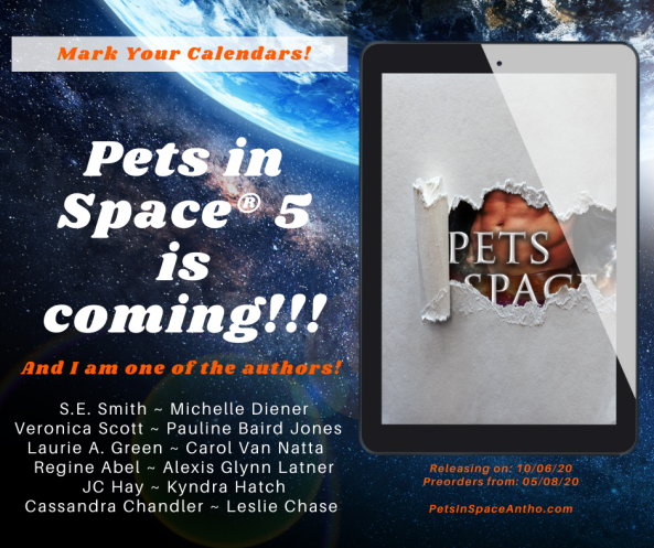 Pets in Space-« 5 Announcement Facebook Post