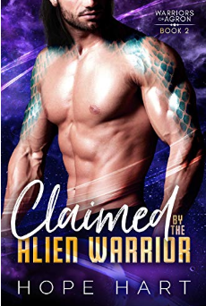 claimed by the alien warrior