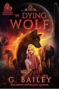 dying wolf